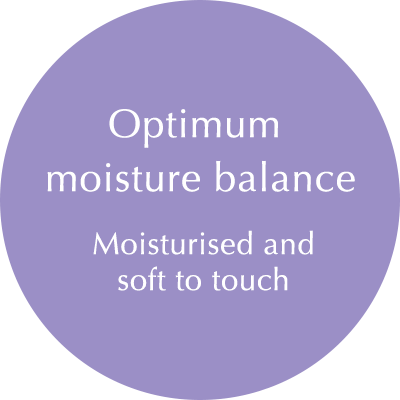 Fine-Textured, Smooth Skin Surface